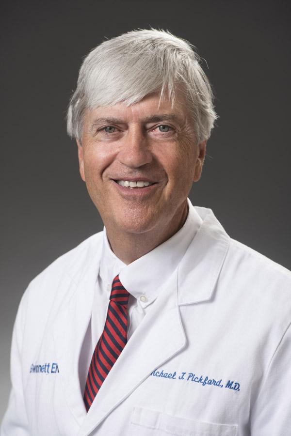 Michael J Pickford, MD